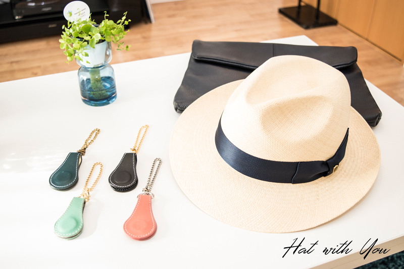 帽子の収納・保管・携帯に便利な帽子クリップ