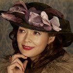 アガサ・クリスティ2夜連続ドラマにお帽子を提供しました♪